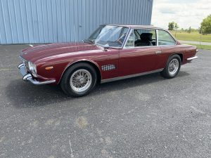 1967 Maserati Mexico Coupe by Vignale front three-quarter