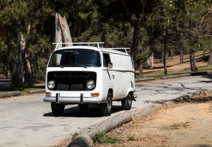 1971 Volkswagen Transporter by Peter Brock front three-quarter