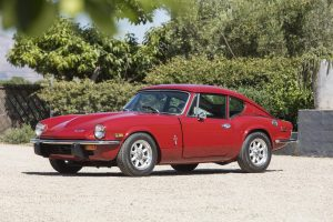 1973 Triumph GT6 MK III front three-quarter
