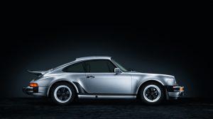 1974 Porsche 930 911 Turbo side profile