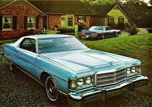 1975 Mercury Meteor Montcalm Hardtops ad