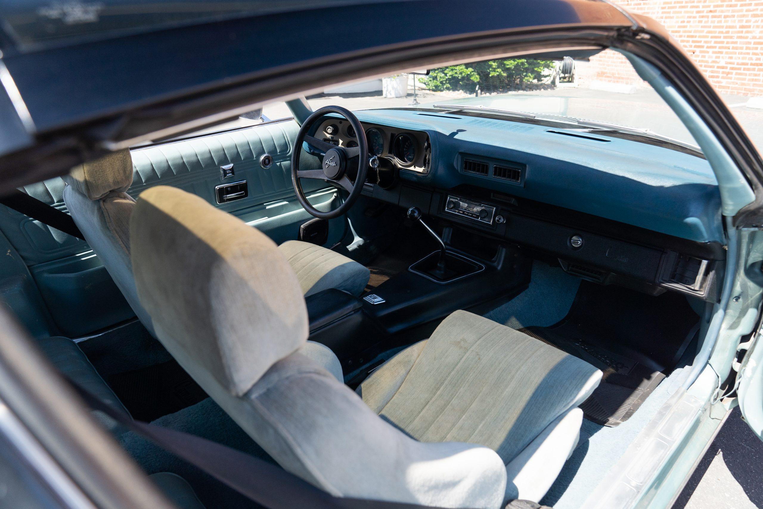 Europo Hurst front interior angled