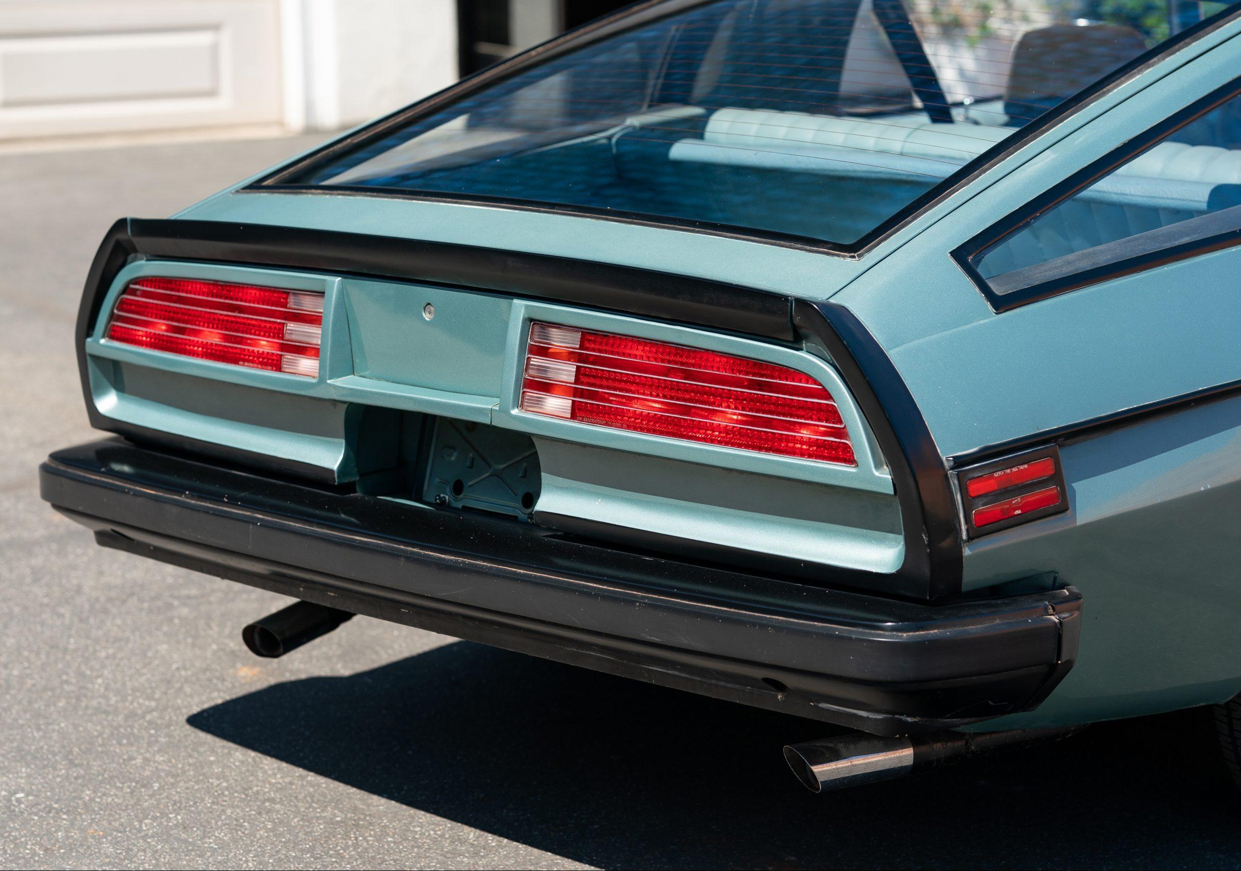 Europo Hurst rear fascia