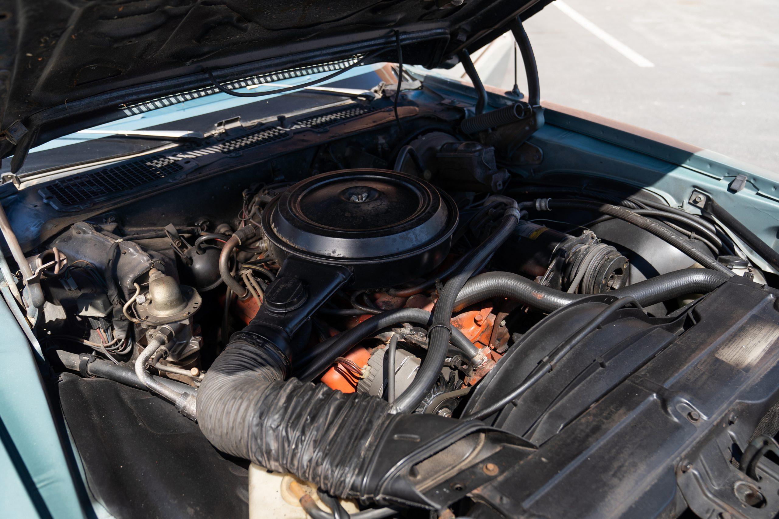 Europo Hurst engine angled