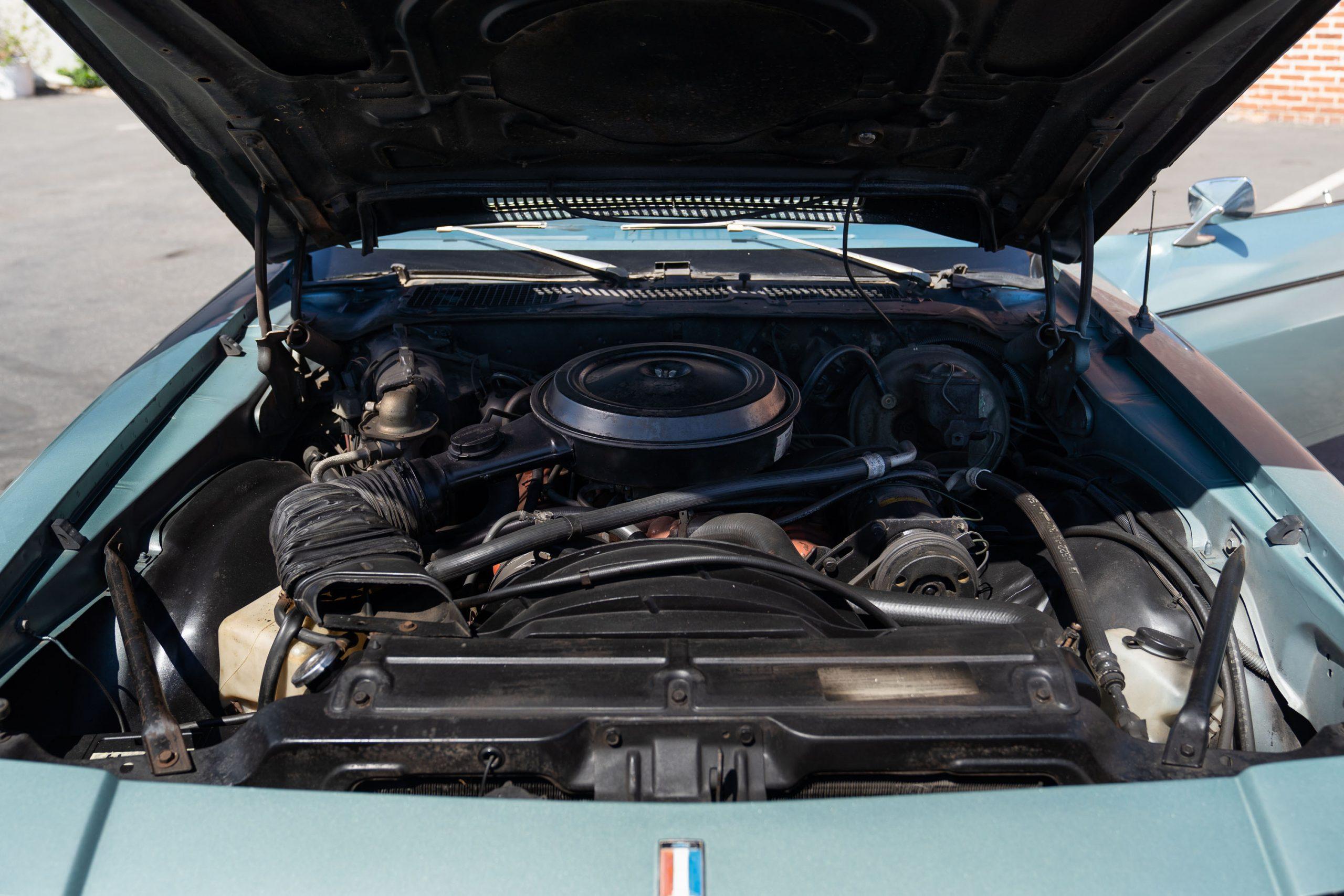 Europo Hurst engine front