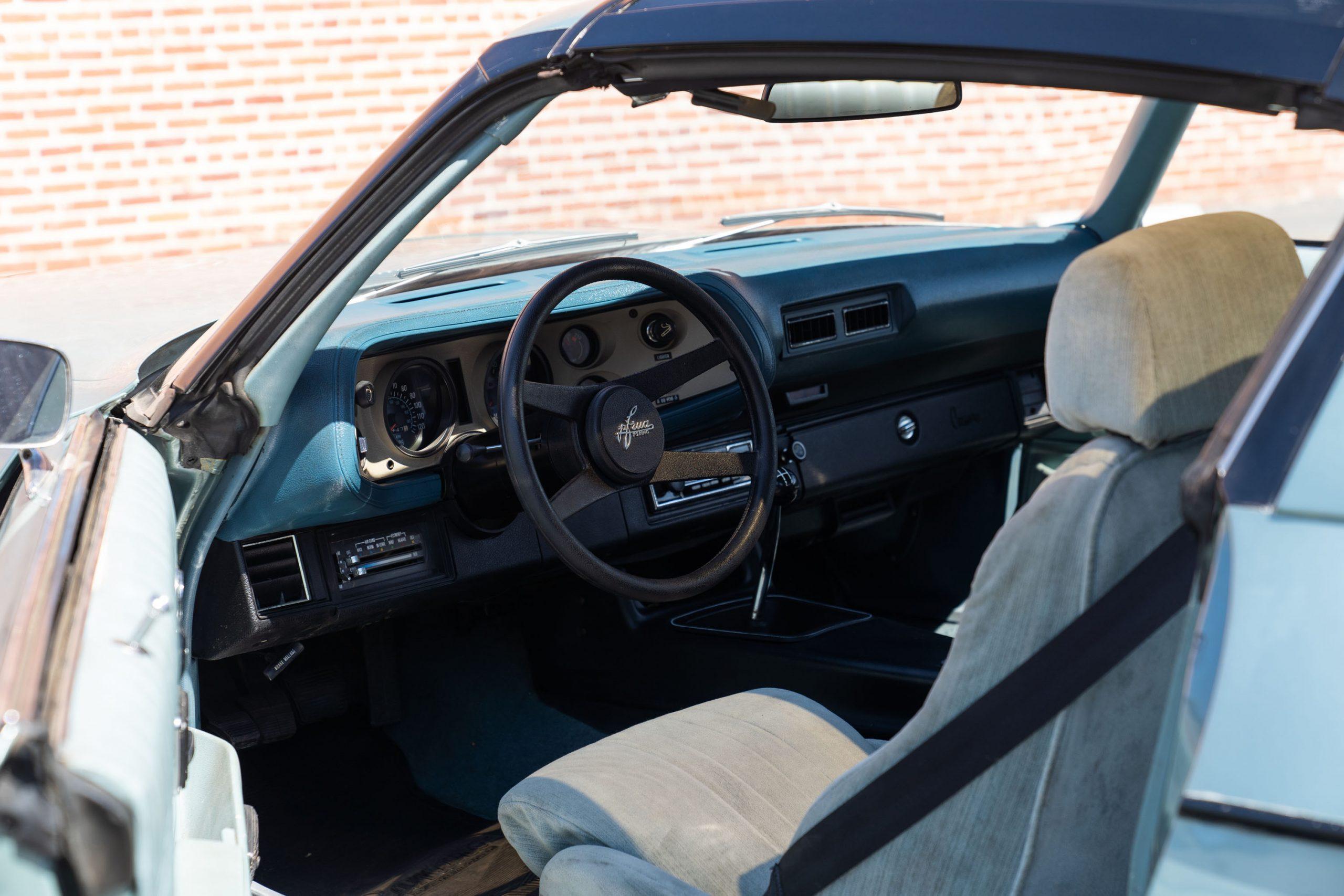 Europo Hurst interior drivers side