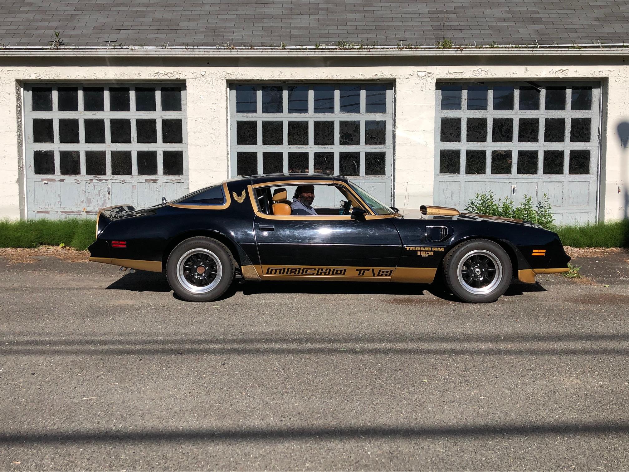 1978 Pontiac DKM Macho Trans Am side profile driver