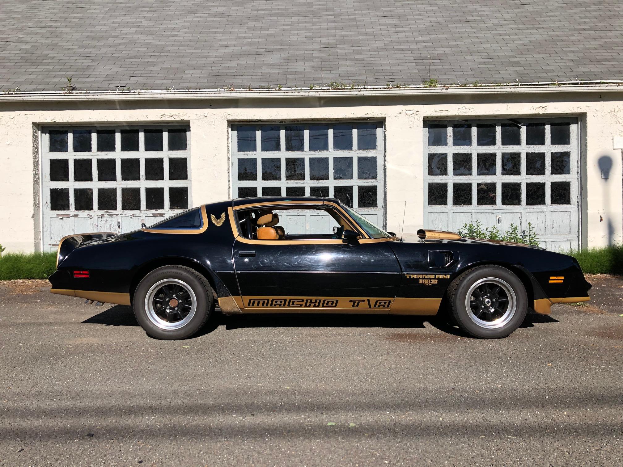 1978 Pontiac DKM Macho Trans Am side profile