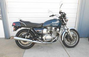 1981 Suzuki GS 850G side profile