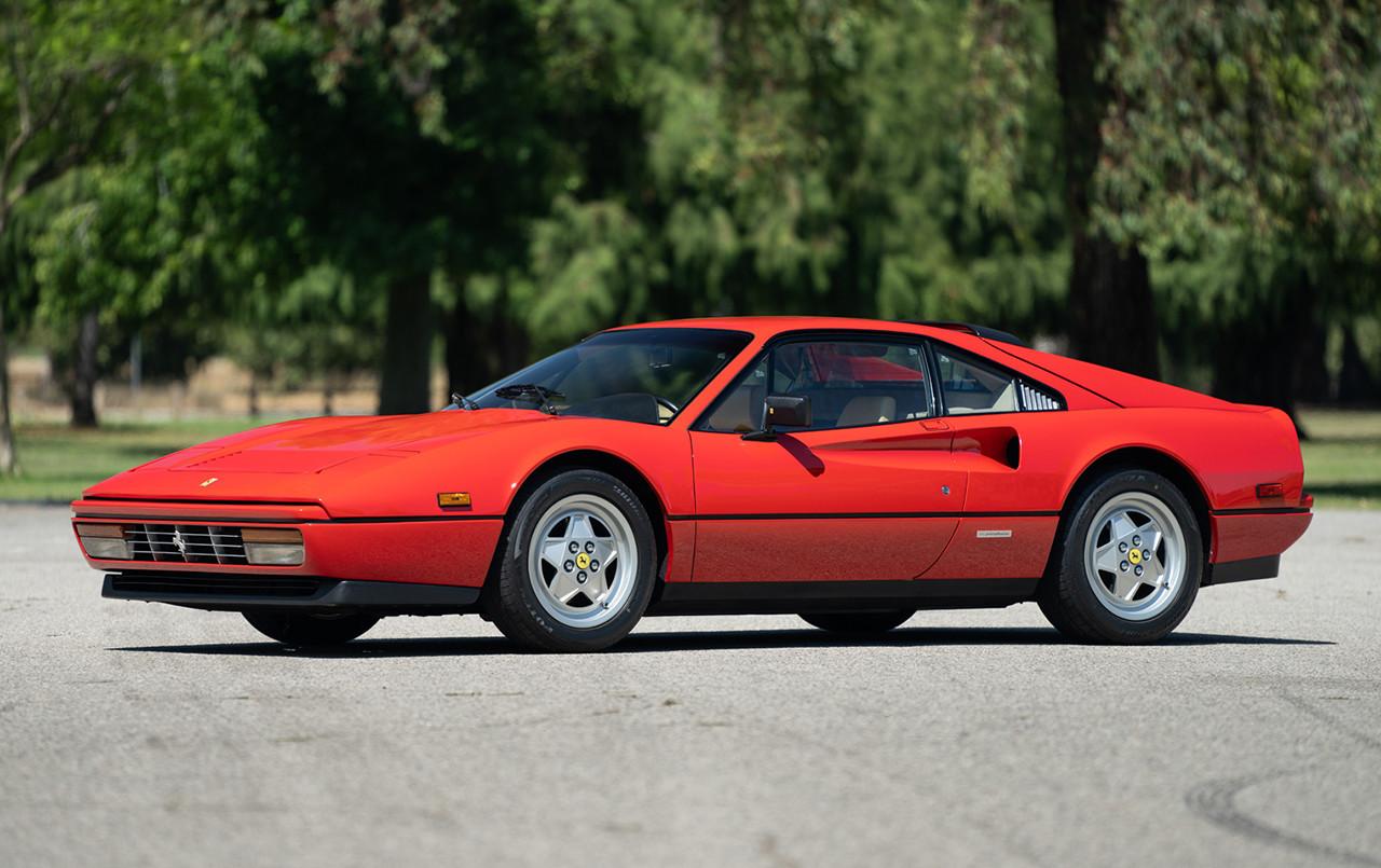 1988 Ferrari 328 GTB front three-quarter