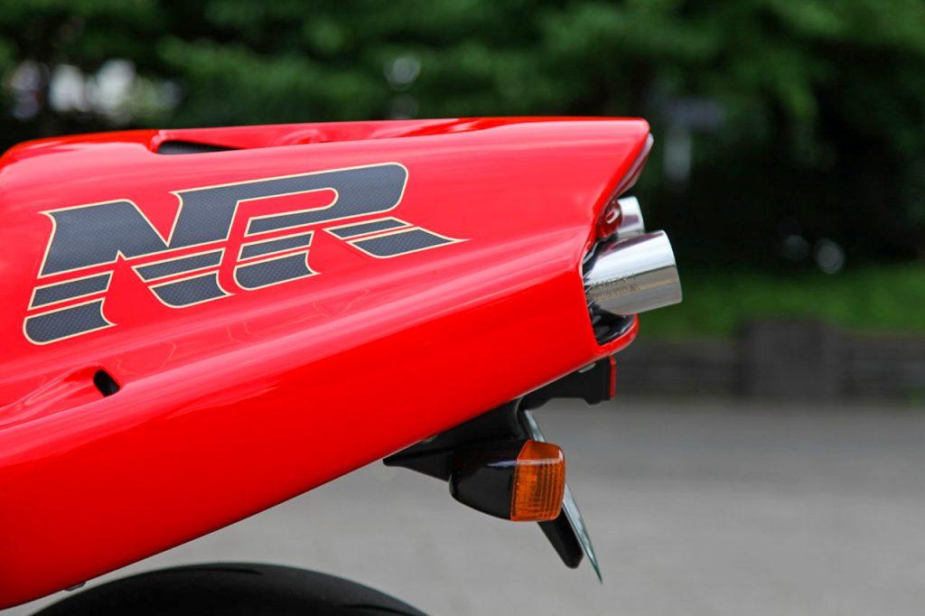1992 Honda NR750 tail - Iconic