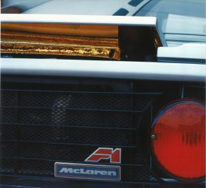McLaren F1 rear aerodynamics
