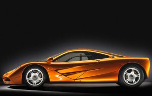 McLaren F1 side profile