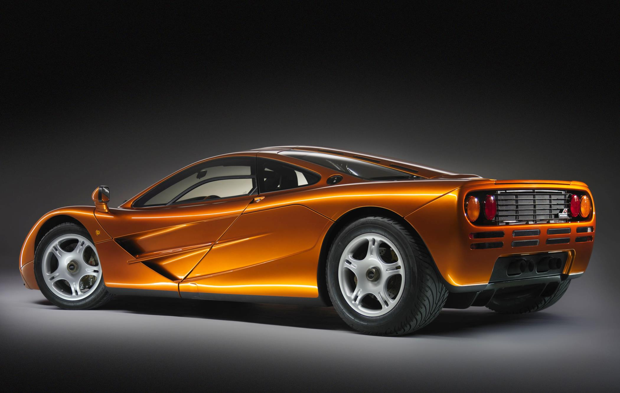 McLaren F1 rear three-quarter