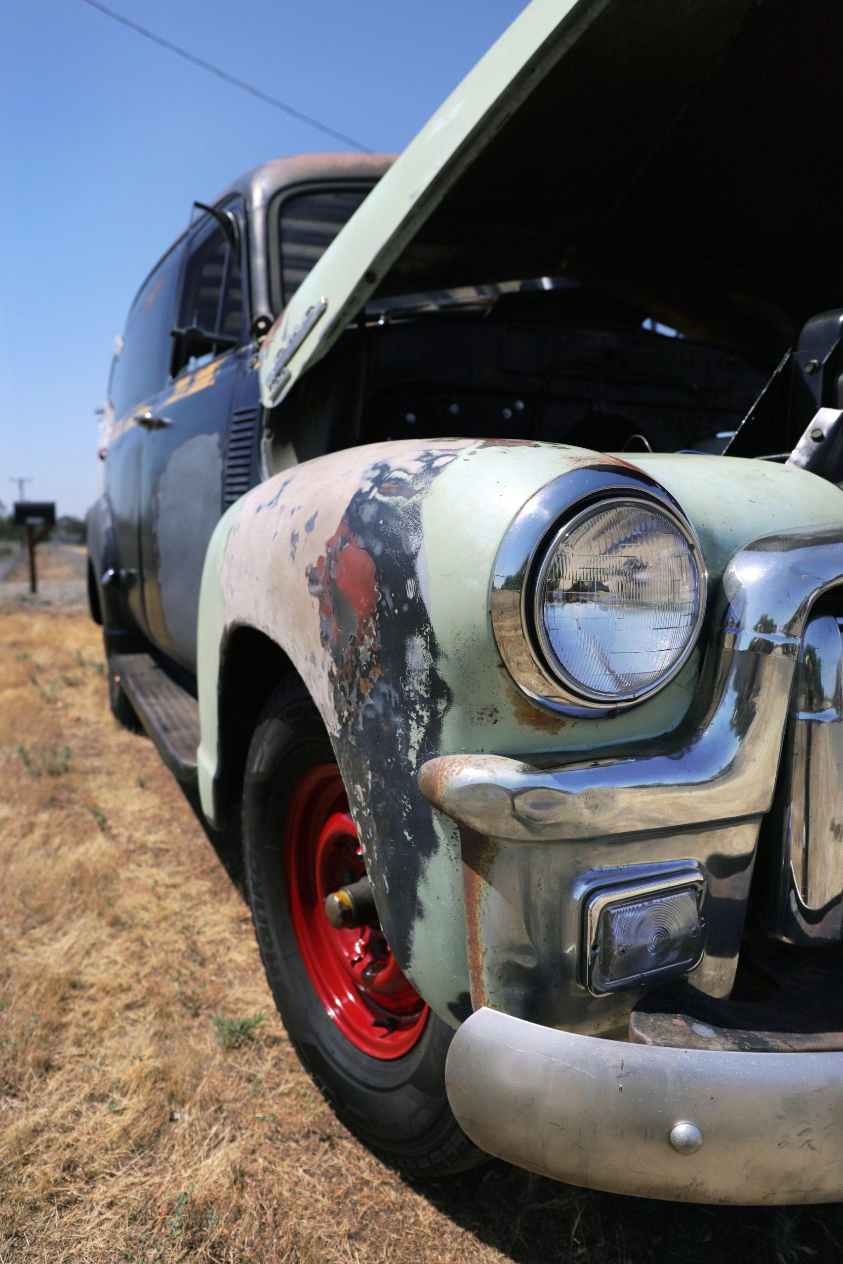 1953 GMC 100 Panel Truck Ugly