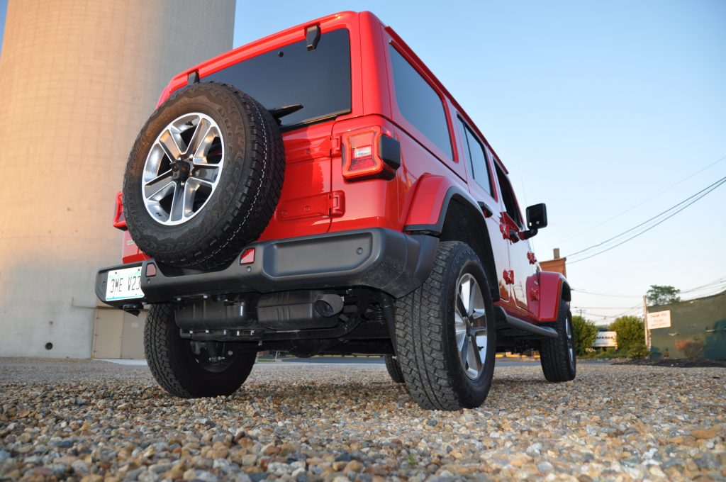 2020 jeep wrangler ecodiesel exhaust tailpipe def tank rear