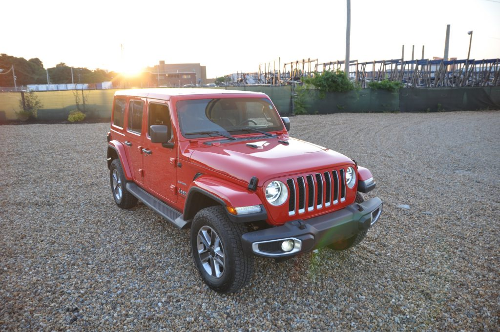 2020 jeep wrangler ecodiesel front