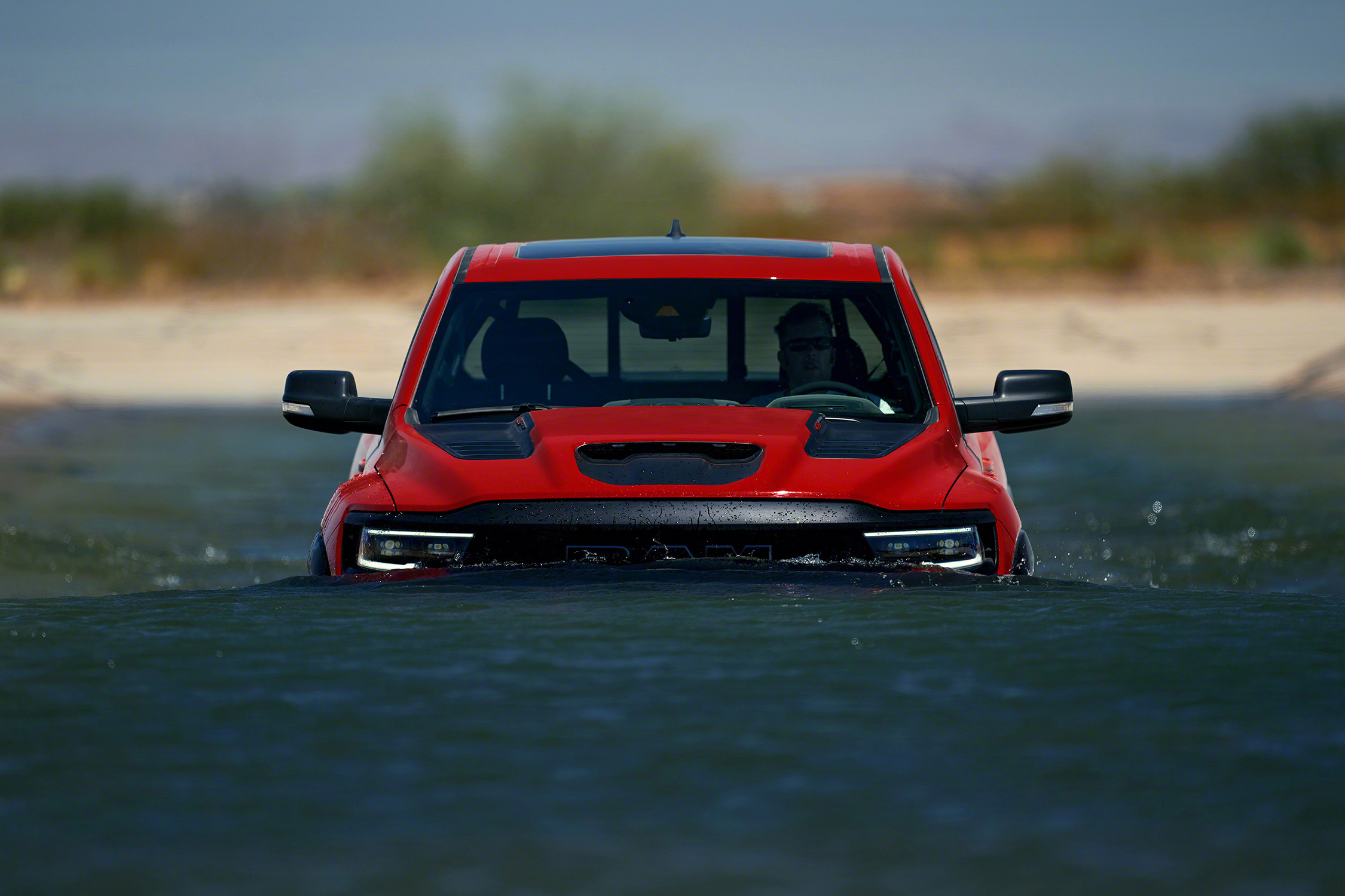 2021 Ram 1500 TRX water fording