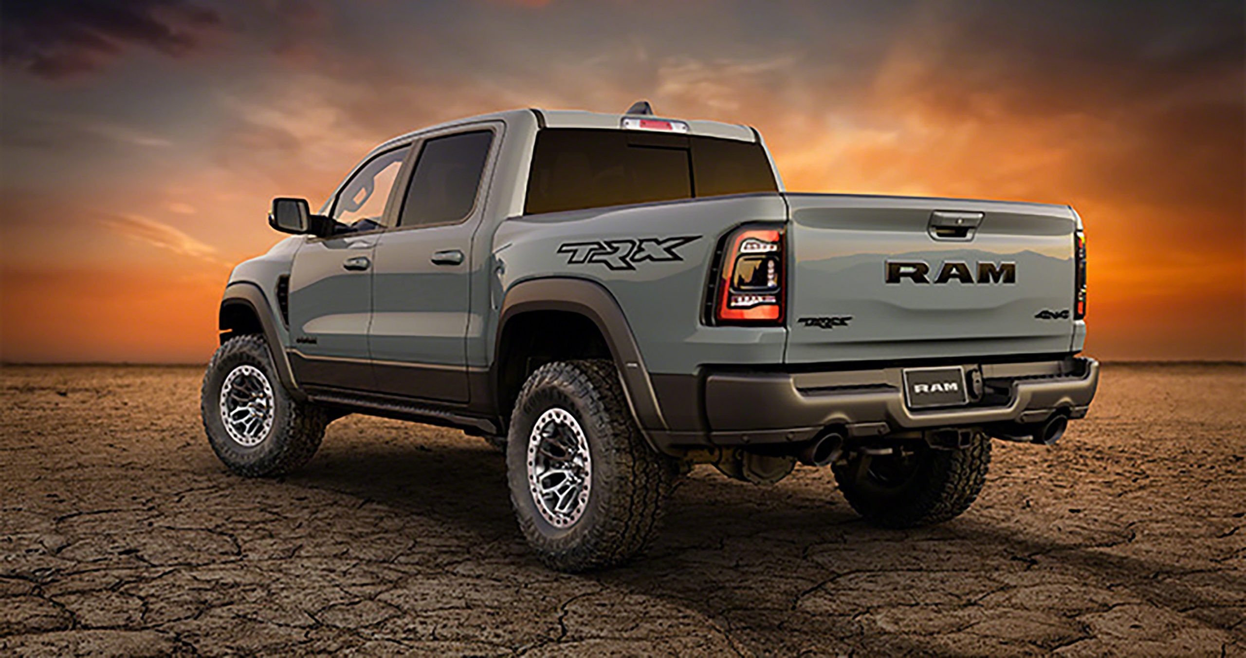 the 2021 ram 1500 trx places the ford raptor squarely