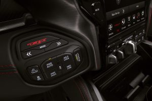 2021 Ram 1500 TRX transfer case switches and drive modes