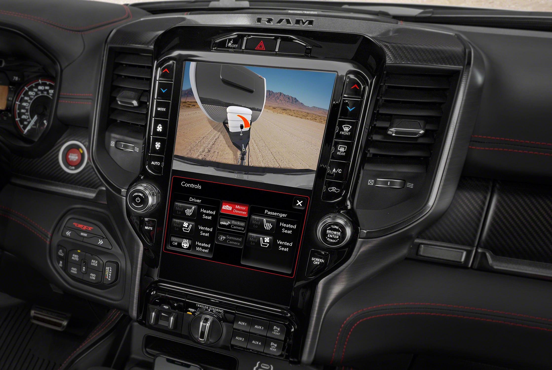 2021 Ram 1500 TRX trailer steering control screen 2