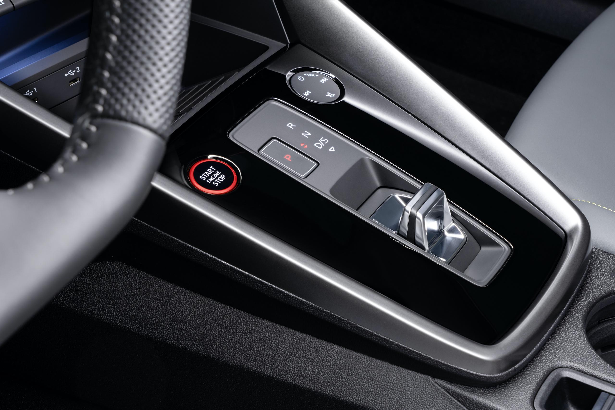 Audi S3 Sedan interior console