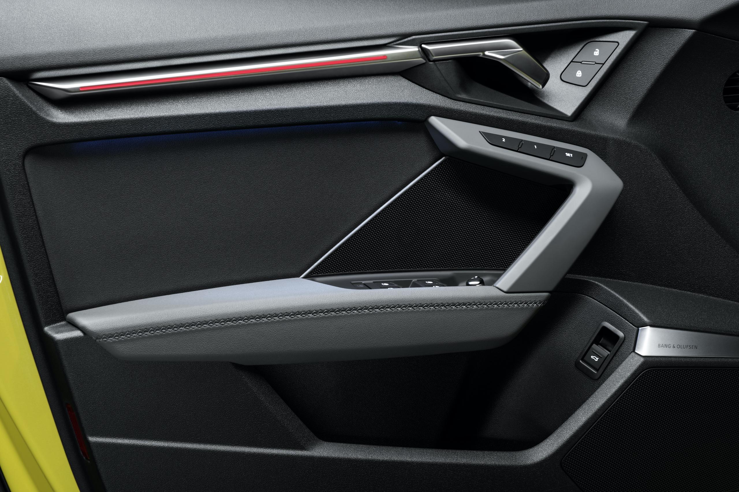 Audi S3 Sportback door panel