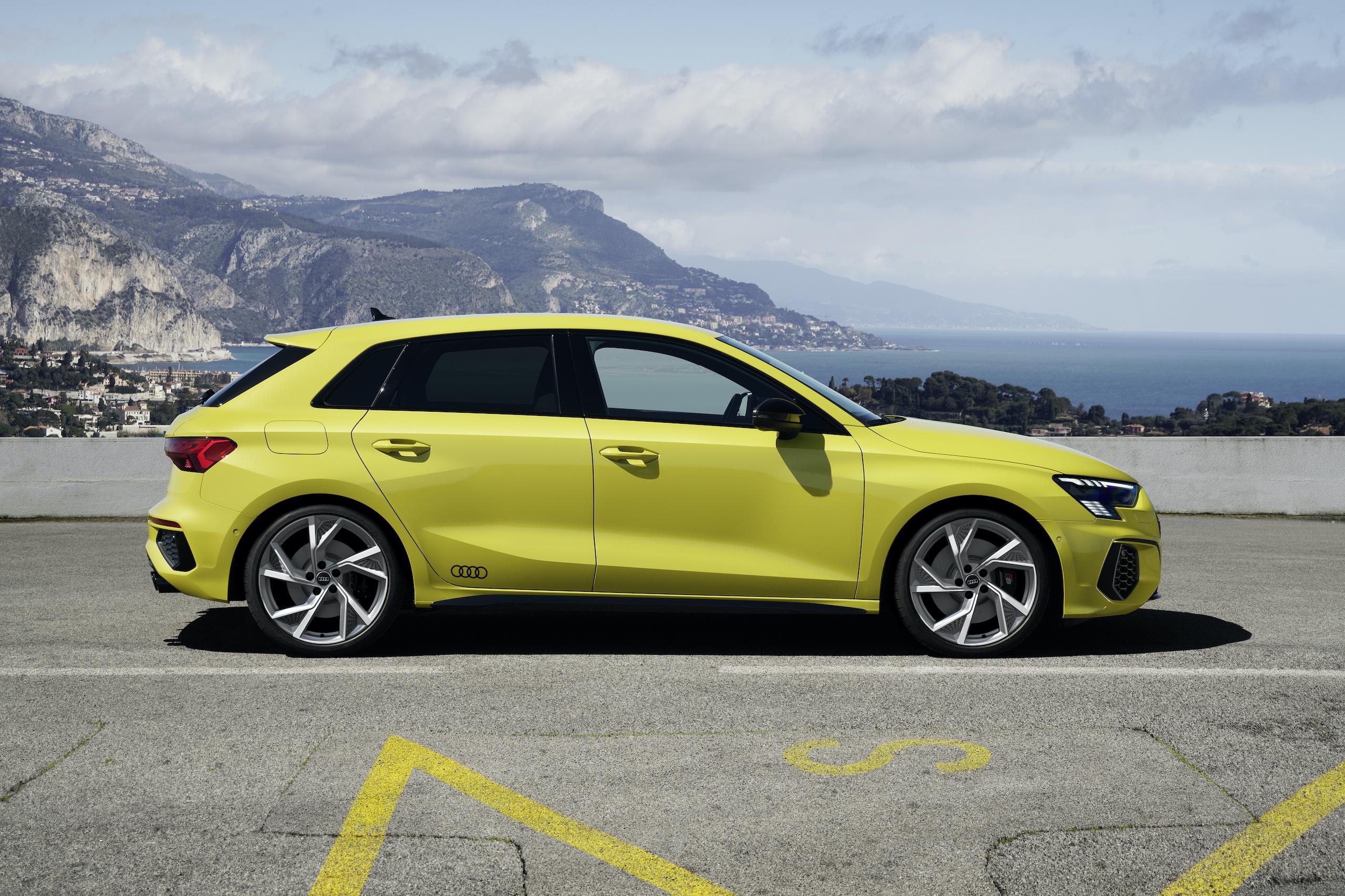 Audi S3 Sportback python yellow