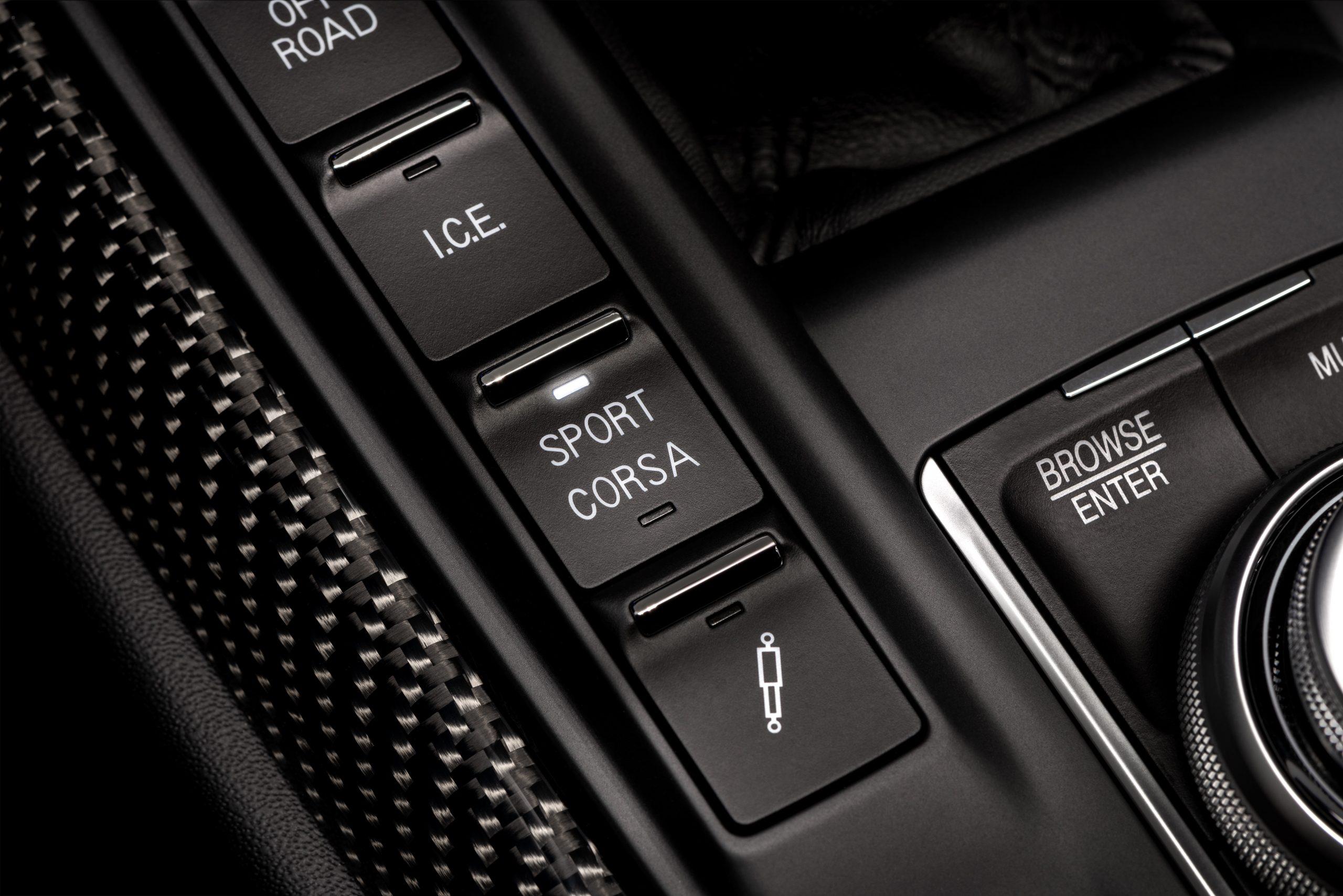 trofeo interior carbon fiber modes