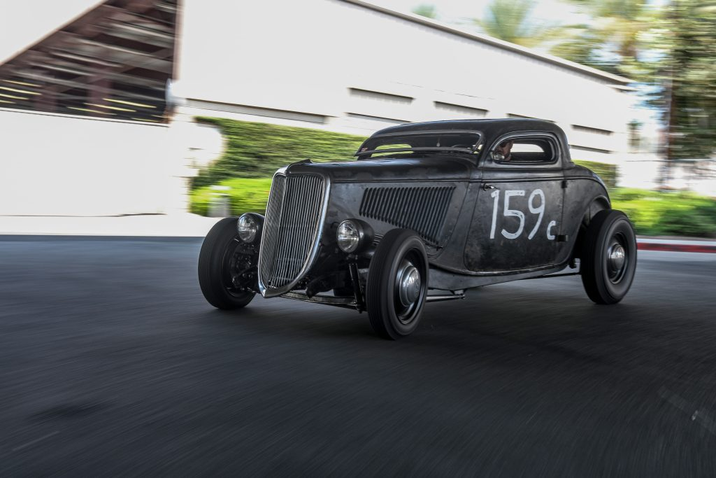 1934 Ford coupe bedlam