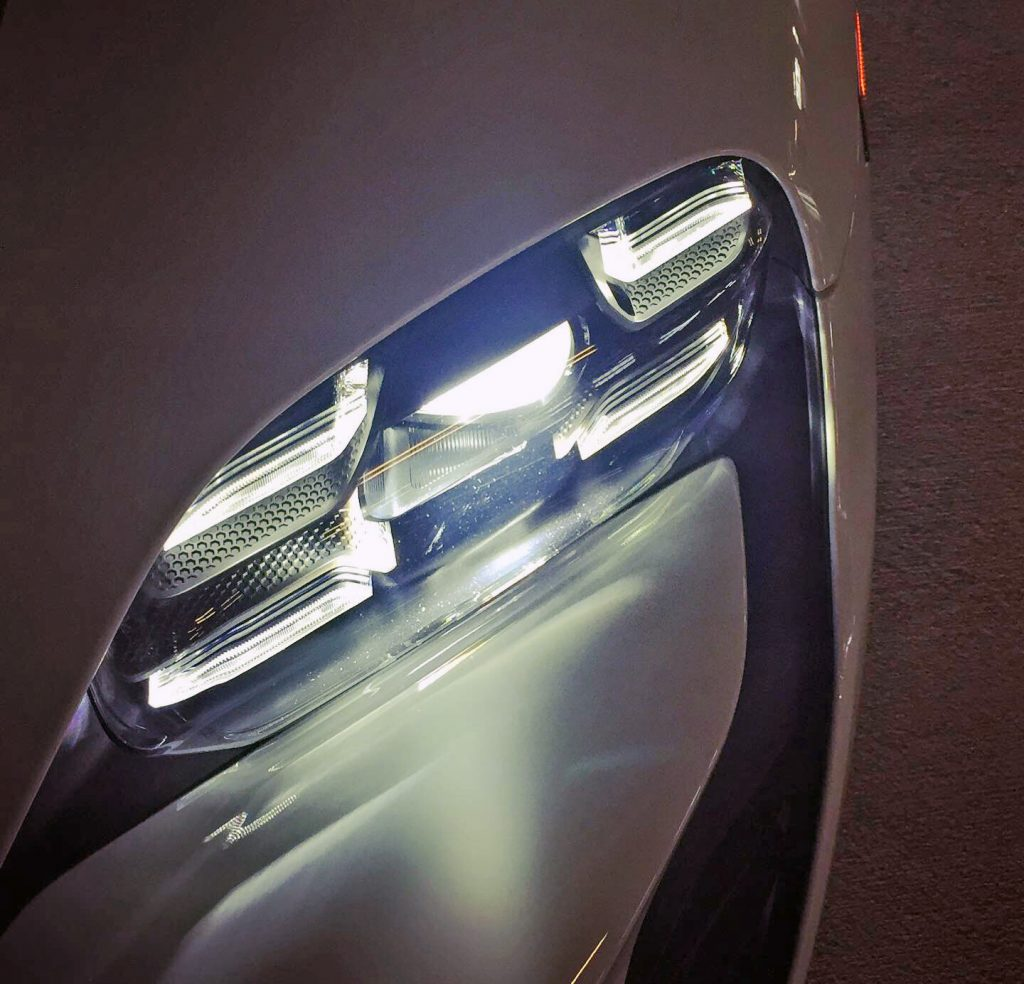 2020 Porsche Taycan headlight