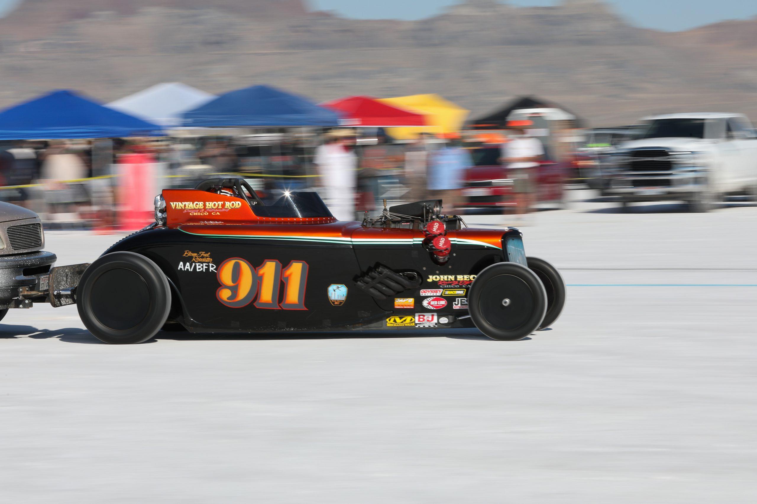 911 Blown Fuel Roadster Bonneville 2020