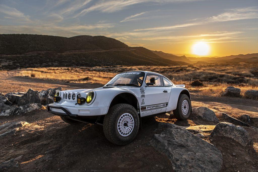 911 Safari story TJ Russell 911 Baja front three-quarter