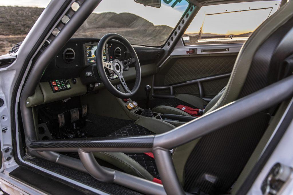 911 Safari story TJ Russell 911 Baja interior cockpit