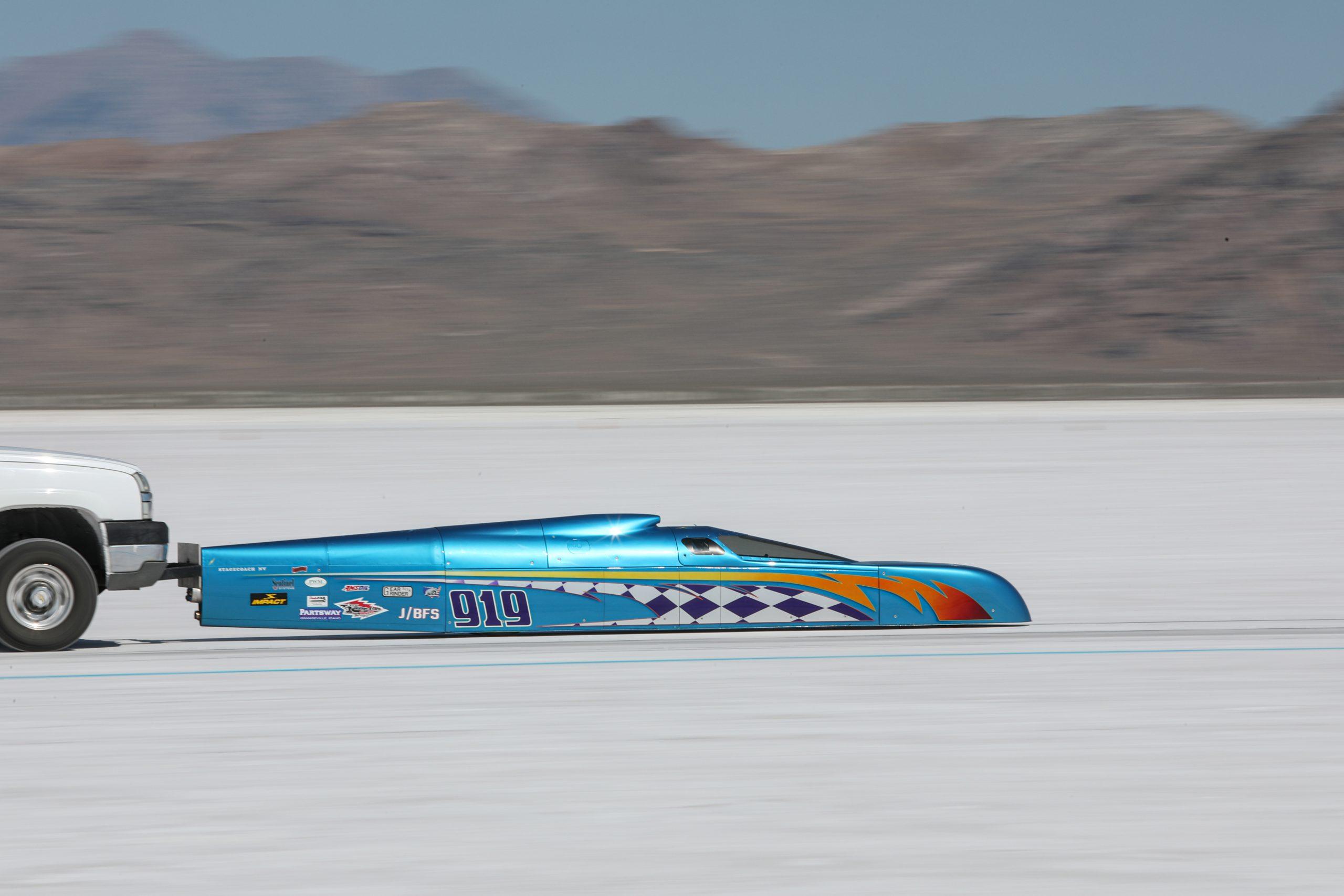 919 Streamliner Bonneville Speed Week 2020