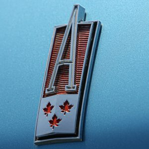 Acadian Canso Hood emblem