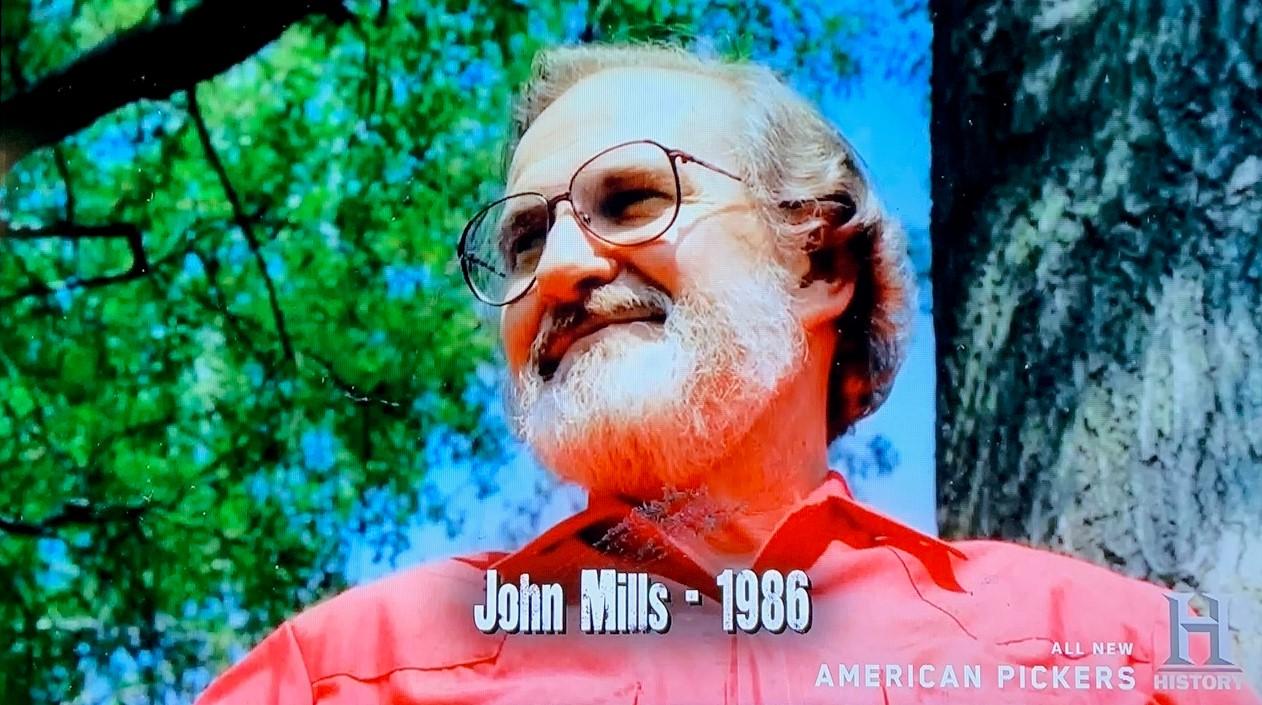 American Pickers - John Mills 5 - John Mills 1986