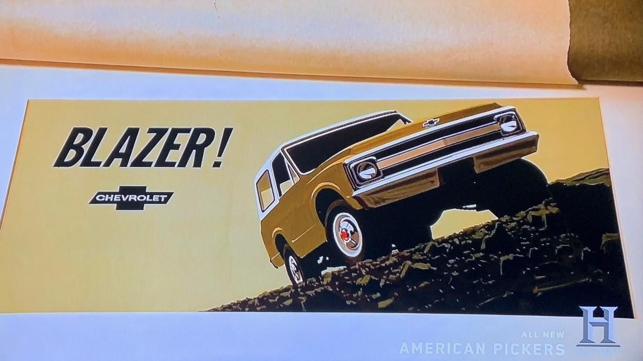 American Pickers - John Mills 9 - Chevy Blazer