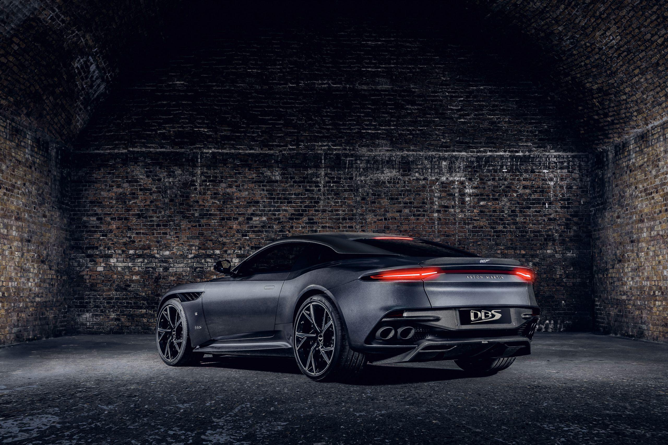 Aston Martin Vantage 007 Edition rear three-quarter