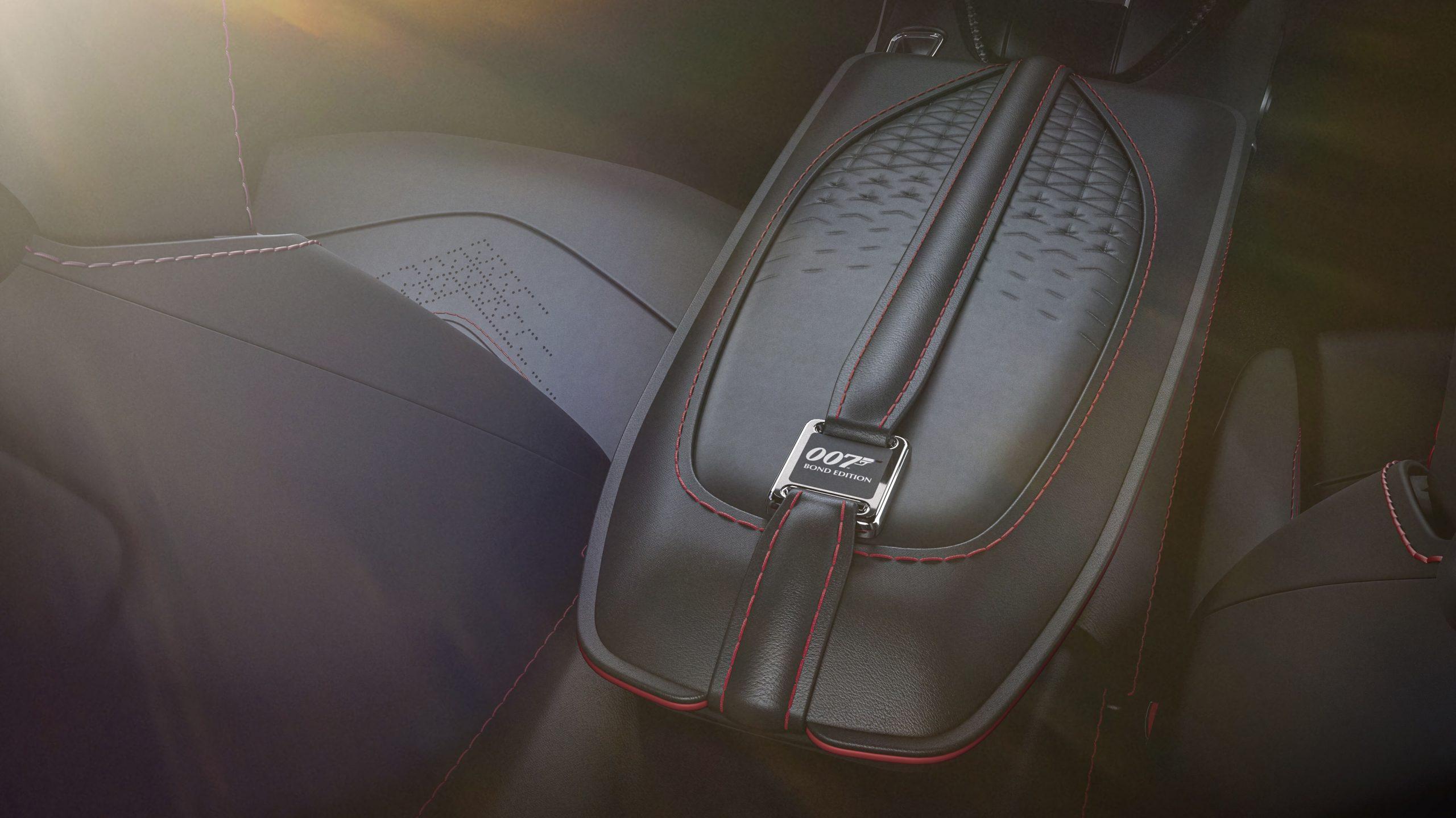 Aston Martin Vantage 007 Edition interior center console