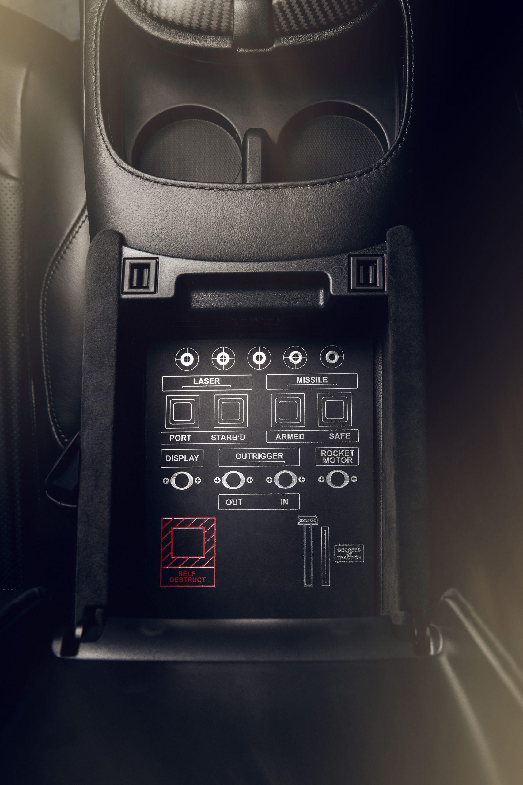 Aston Martin Vantage 007 Edition weapons