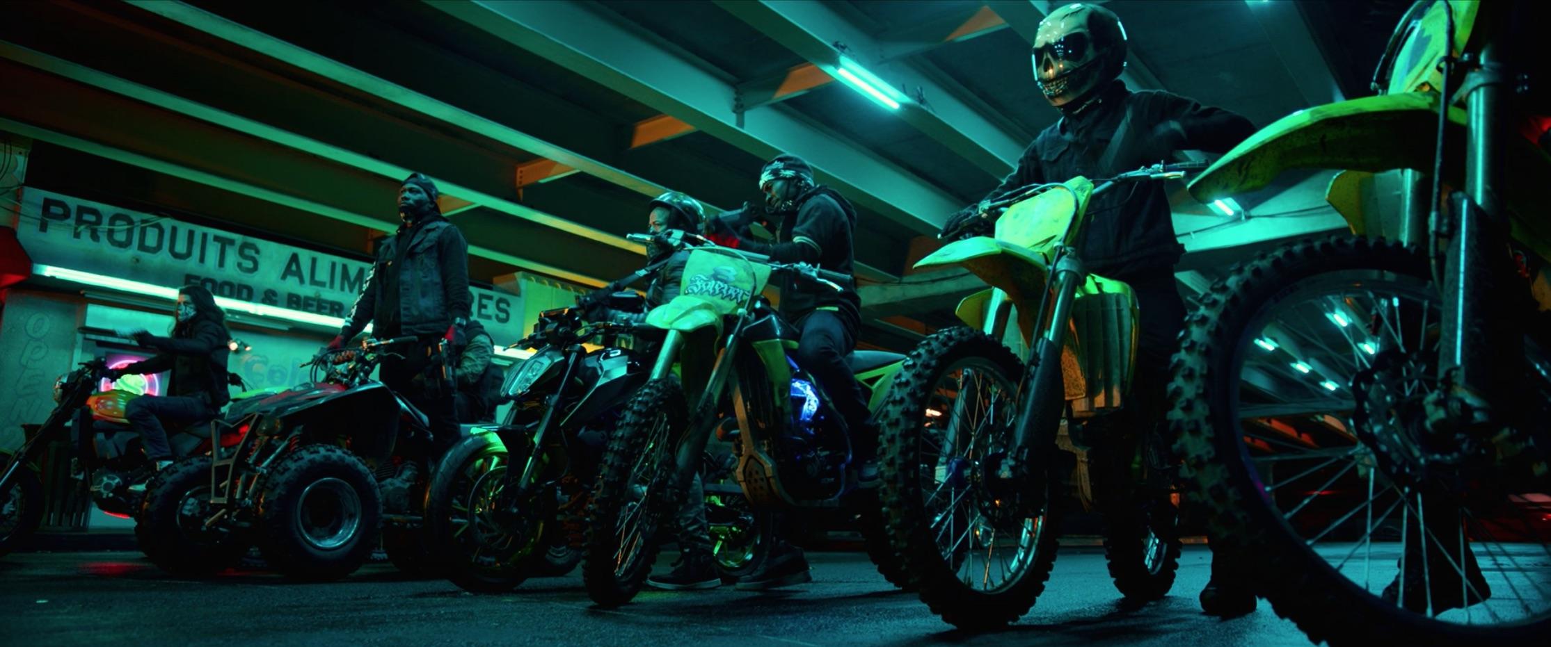 Bad Boys For Life urban motocross rider gang
