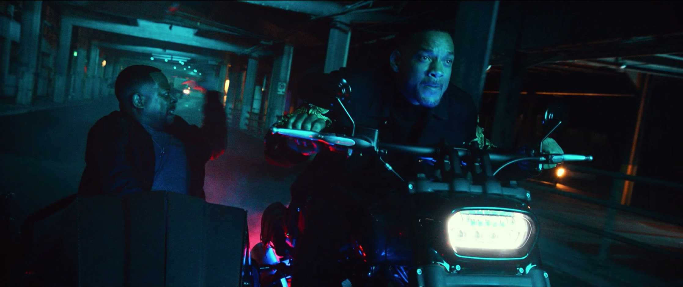 Bad Boys For Life will smith driving motorcycle dynamic action