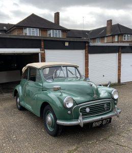 Barn Find Hunter UK - 1956 Morris Minor 1000 convertible - full passenger side