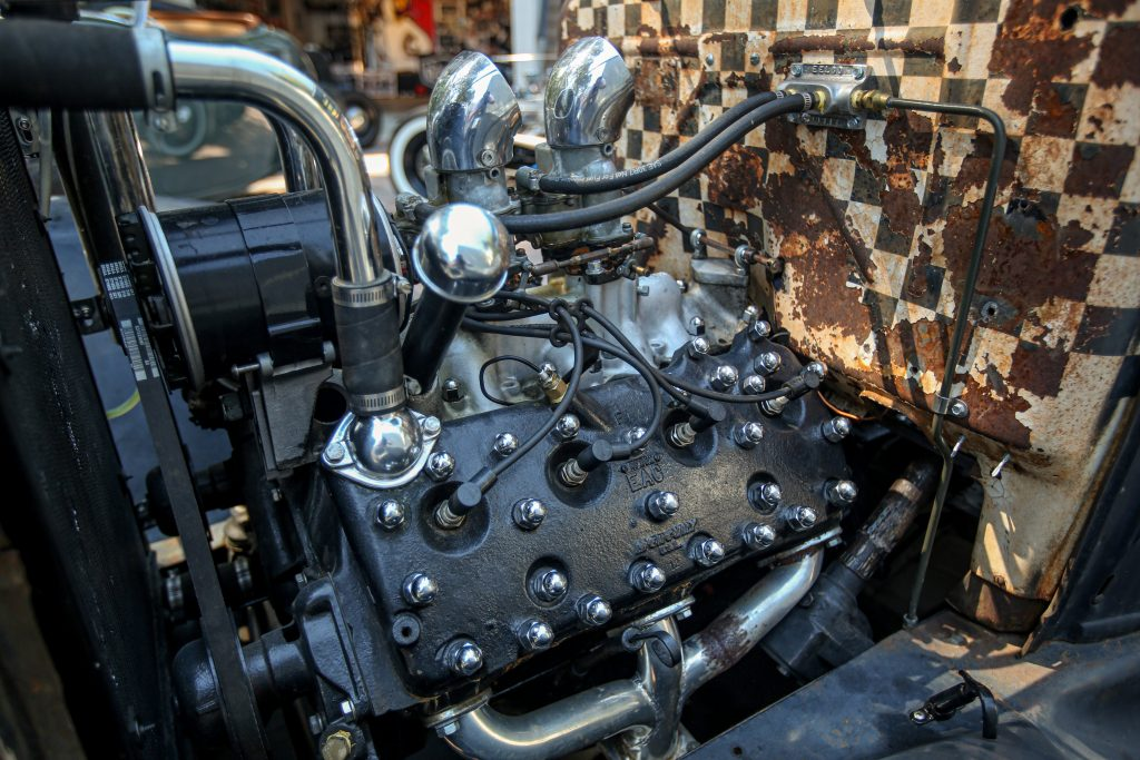 Bedlam Ford Flathead V8 engine