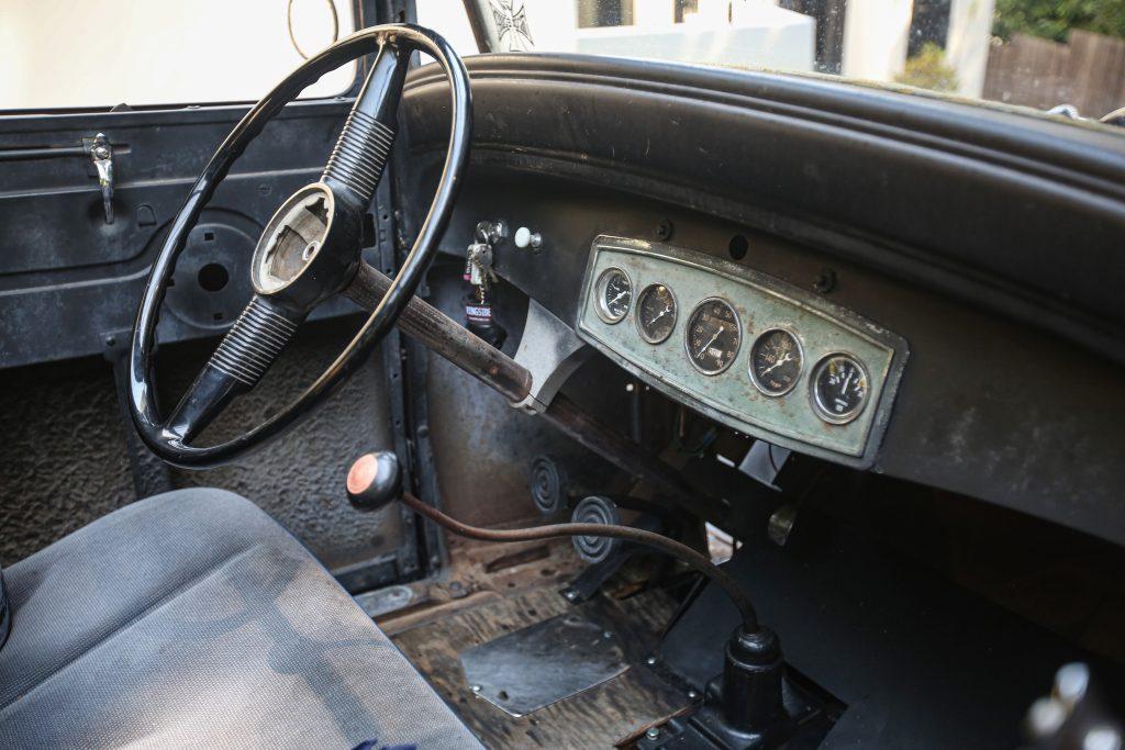 Bedlam Ford Model A interior