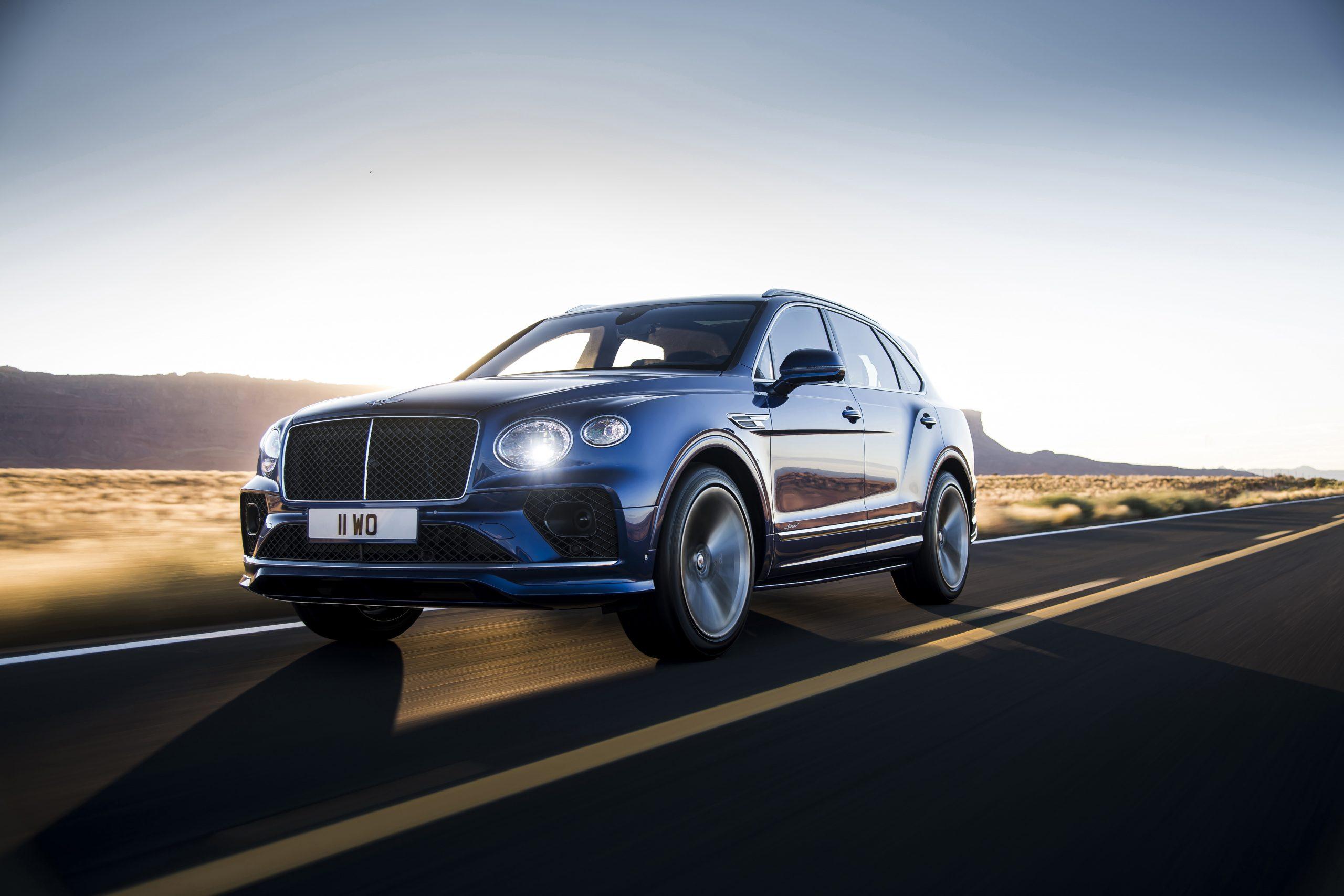 Bentley Bentayga Speed 1
