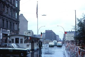 Berlin Checkpoint Charlie 1963