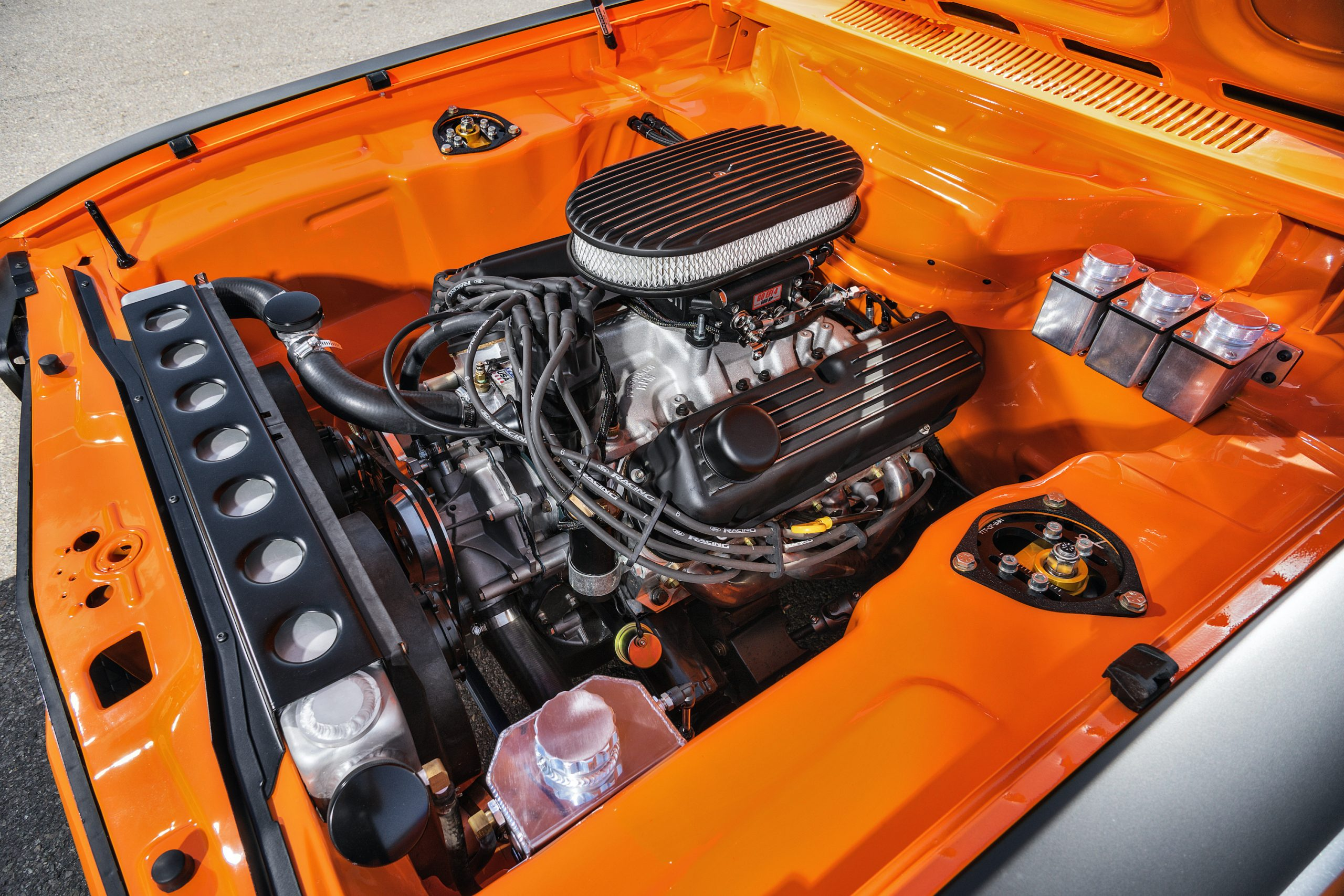 1974 Mk I Ford Capri restomod engine right