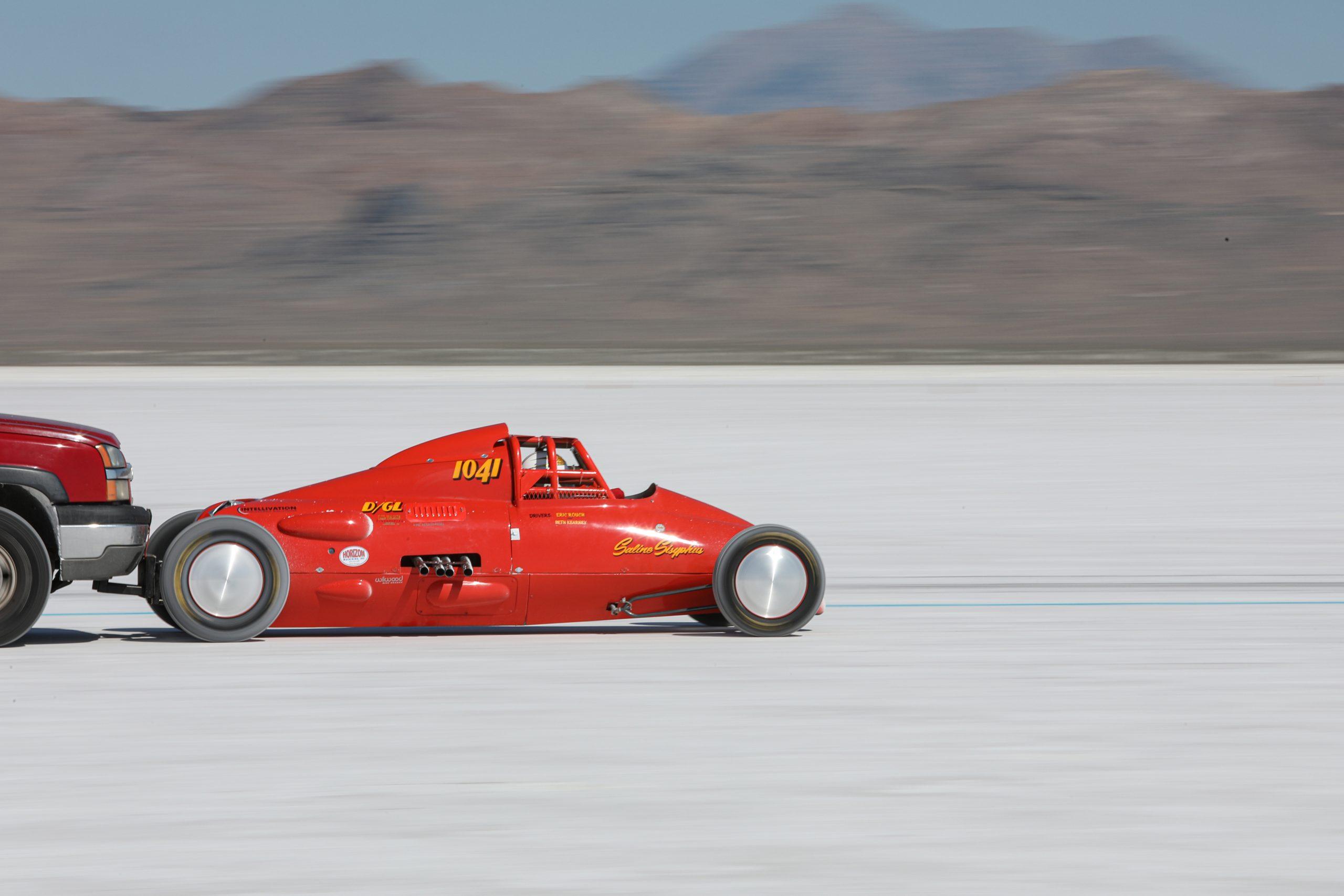 Bonneville Lakester 1041 Speed Week 2020